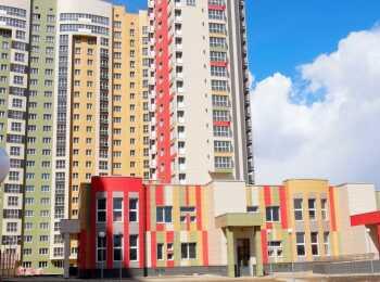 Пристроенный детский сад на территории ЖК Лобачевский